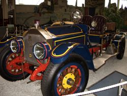 "American La France ""Feuersalamander"", 1917 (Originalnachbau des Mercedes Simplex)"