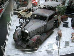 Auch ein Maybach ... allerdings ein Umbau zu einer transportablen Säge