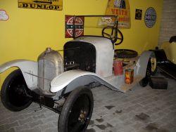 Citroen A, 1919 Fahrgestell mit restaurierter Technik